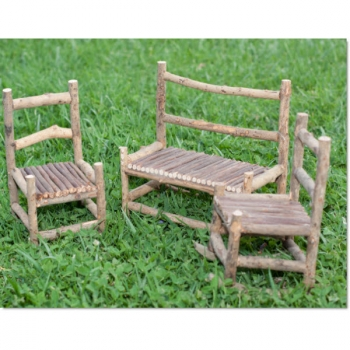 Admirable Large Fairy Garden Bench Set Ibusinesslaw Wood Chair Design Ideas Ibusinesslaworg