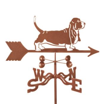 Basset Hound Dog Weathervane Roof Deck Or Garden Mount On Sale Agardenplace Com